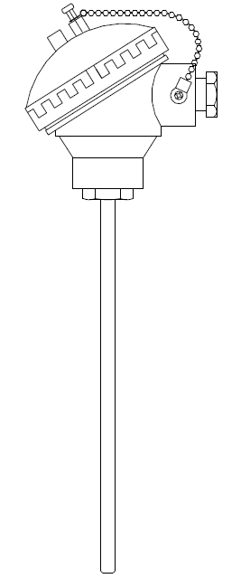 EMF Output with Temperature for common thermocouples