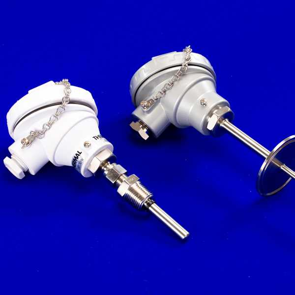 Industrial PT100 and Thermocouple Probes