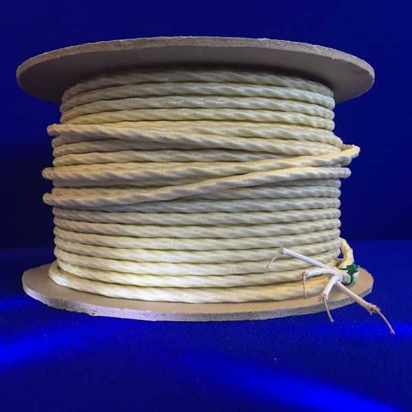 Thermocouple Extension Cable, High Temperature, Glass Fibre (TE-GFH)