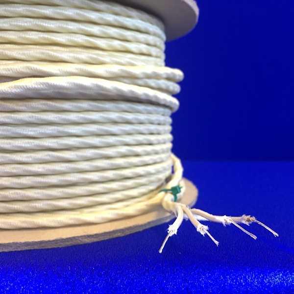 Thermocouple Extension Cable, High Temperature, Glass Fibre (TE-GFH)