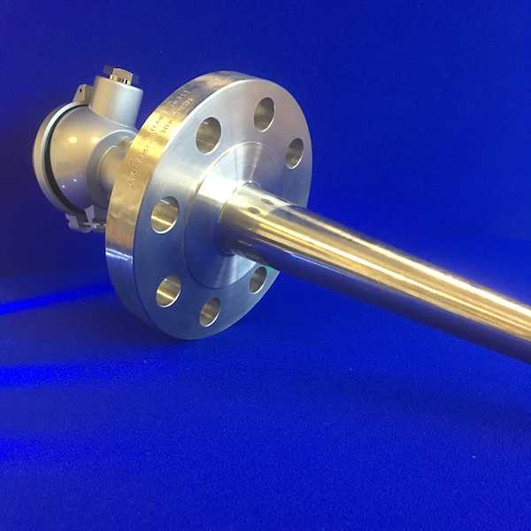Temperature Probe with Solid Drilled Thermowell and Head (HD, HDS, HDF)