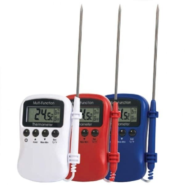 Min/Max thermometer with alarm functions (MMC)